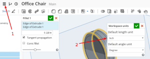 Onshape Units