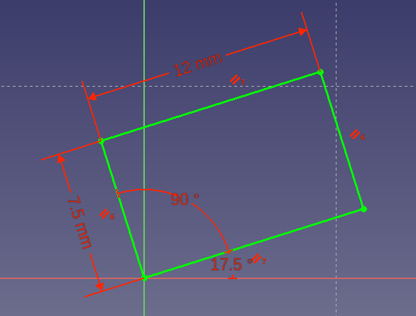 FreeCAD Tutorial Office Chair Part 1: Setup and Constraints